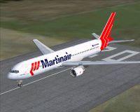Martinair Boeing 767-300 on runway.