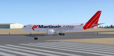 Martinair Cargo Airbus A330-200F.