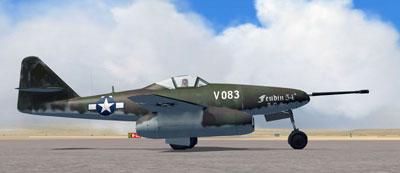 Me 262 on Runway