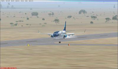 Mexicana de Aviacion Boeing 737-800 on runway.