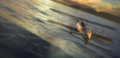 Screenshot from Microsoft Flight's teaser trailer video