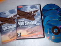 Microsoft Flight Simulator 2004 packaging