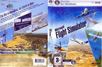 Microsoft Flight Simulator X box artwork