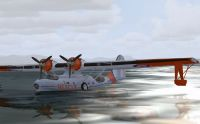 Screenshot of PBY Catalina for FSX.