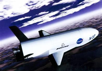 Nasa's X37 Space Plane takes flight
