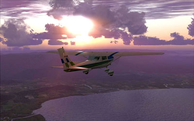 Screenshot from Orbx's FTX Australia scenery for Microsoft Flight Simulator X