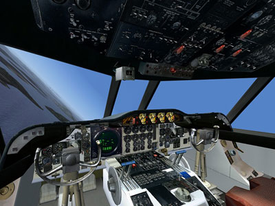 P-3C Orion virtual cockpit