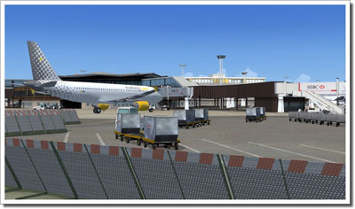 Paris Orly Scenery in Microsoft Flight Simulator X