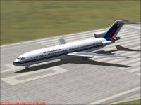 Philippine Airlines Boeing 727-200 on runway.