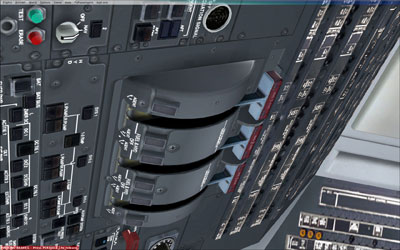 Flight deck controls