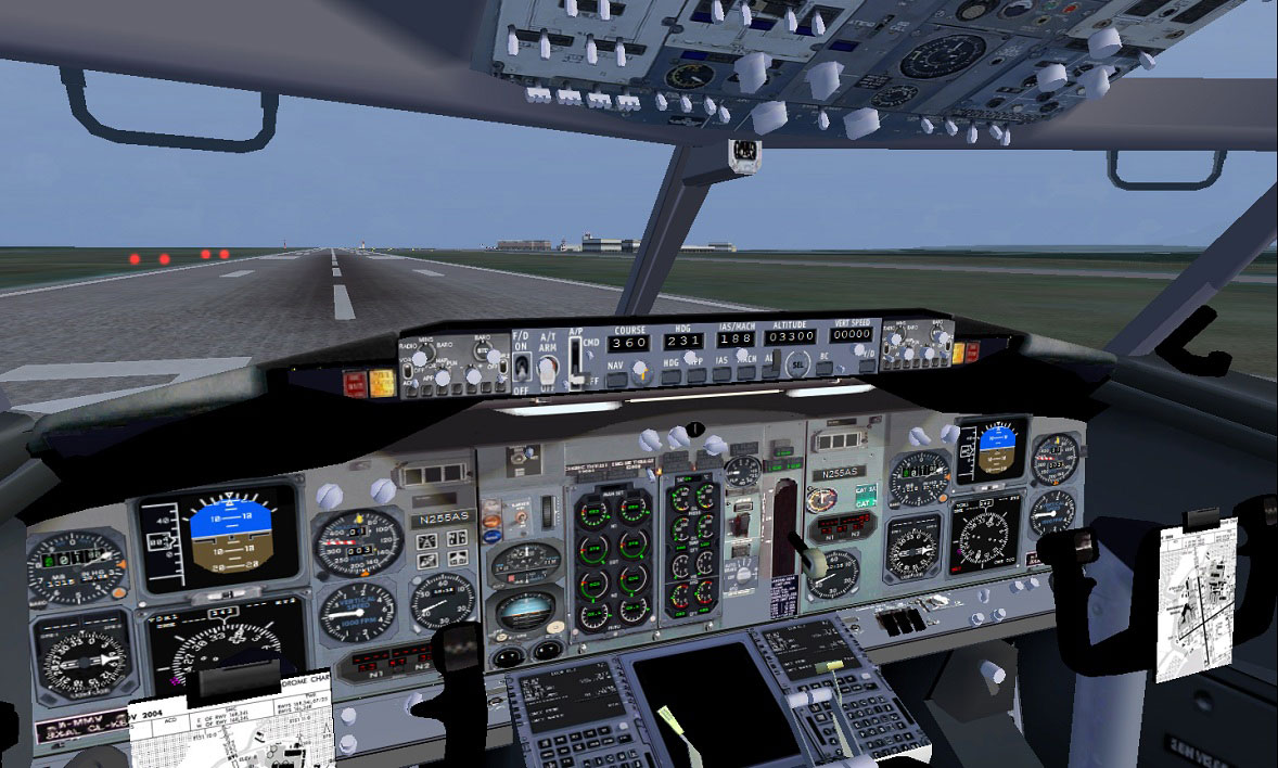 Project Open Sky Boeing 737 400 Vc For Fsx