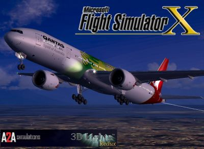 Qantas Boeing 777-300ER.