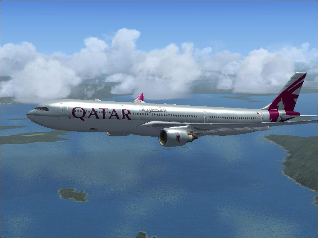 Qatar Airways Airbus A330-300 for FSX