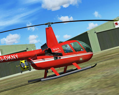 Robinson R44 Clipper helicopter