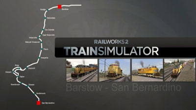 Route selection screen