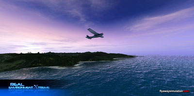 Screenshot from Real Environment Extreme for FSX