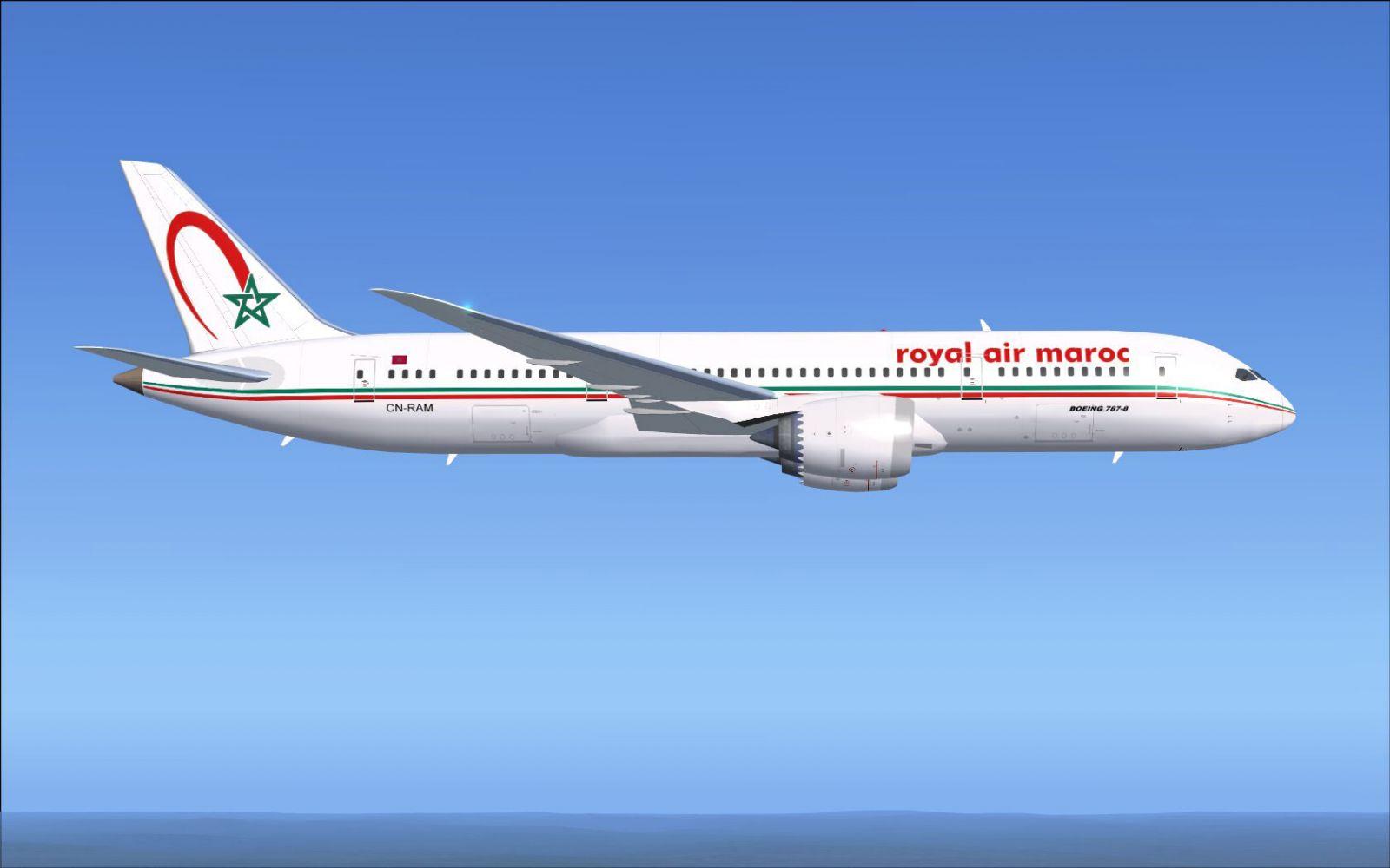 Royal air maroc boeing 787 8 for fsx for Interieur avion
