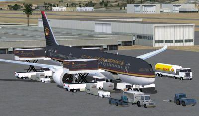 Royal Jordanian Boeing 787-8.