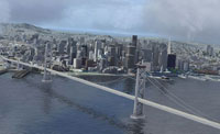 San Francisco scenery in FSX