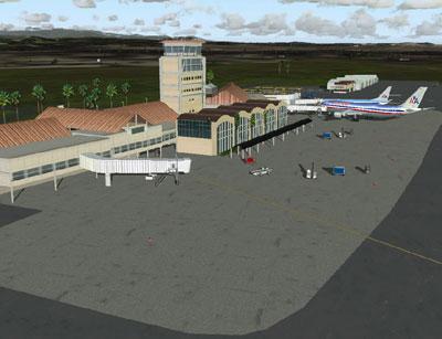 Santiago Cibao Int'l Airport terminal