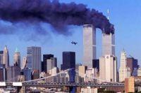 Second aircraft crashing into the World Trade Center
