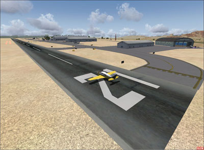 Screenshot of Sedona Airport for Microsoft Flight Simulator X