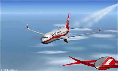 Boeing 737-800 Shanghai Airlines
