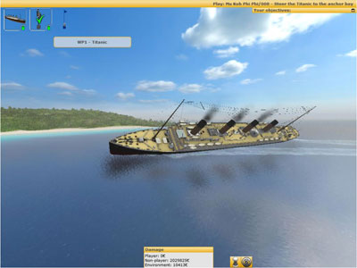 Titanic in Ship Simulator 2006