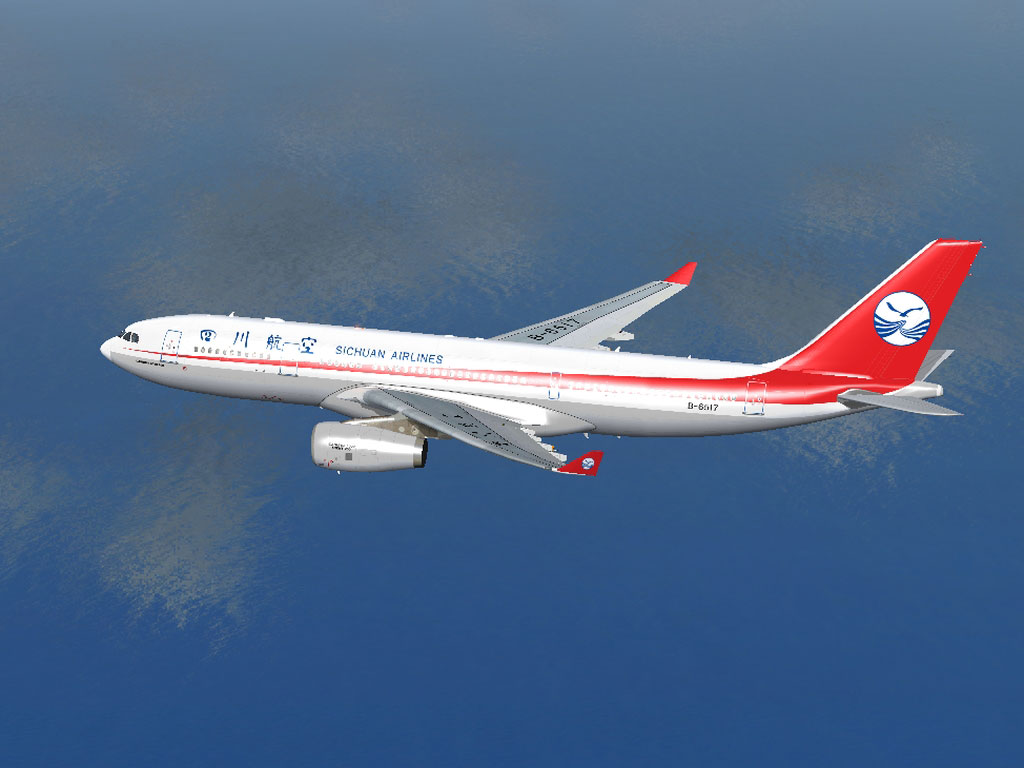 Sichuan Airlines Airbus A330 200 For Fsx