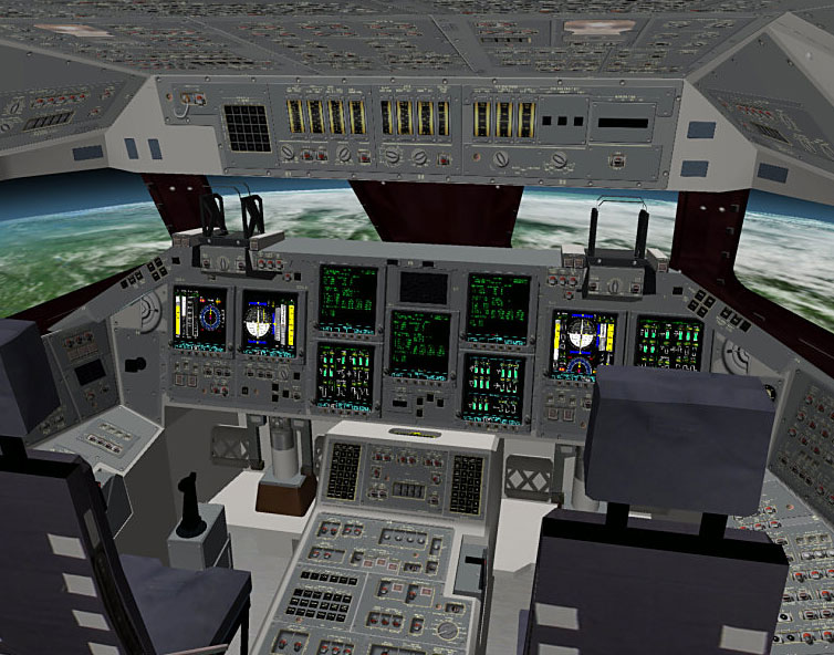 space shuttle home cockpit - photo #13