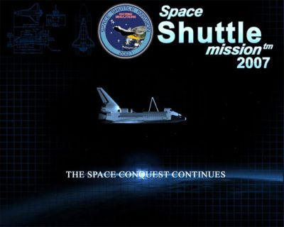 Space Shuttle Mission 2007 artwork.