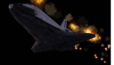 A Space Shuttle mission add-on in FSX