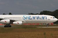 Srilankan Airlines Airbus A340-313X.