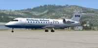 Stellweg Airlines Canadair CRJ-200.