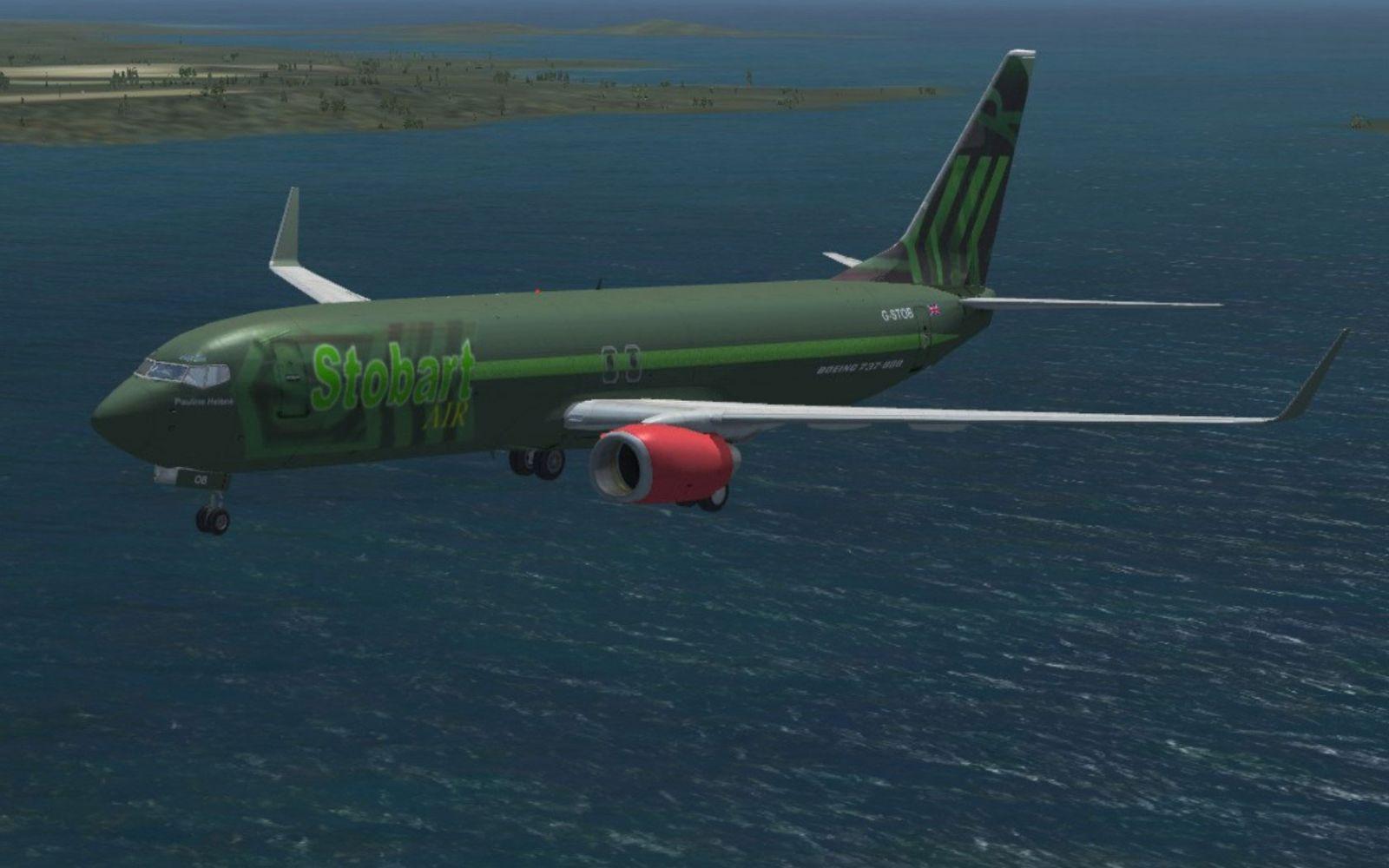 Stobart Air Boeing 737 800 For Fsx