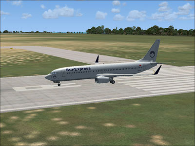 SunExpress Boeing 737-800 for FSX