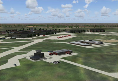 Screenshot of Team SDB's RAF Scampton Scenery for FSX & FS2004