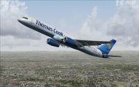 Thomas Cook UK Boeing 757-200 making ascent.