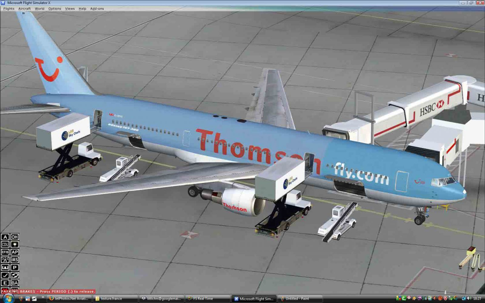 Boeing 767 Fsx