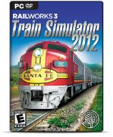 RailWorks 3: Train Simulator 2012 box artwork.
