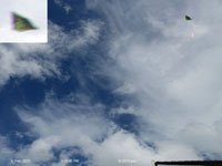 UFO sighting in Auckland, NZ