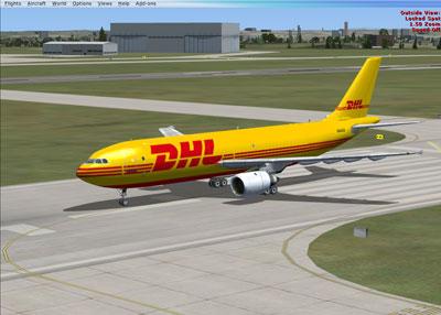 FSX UKFlightsim Airbus A300B4-600F