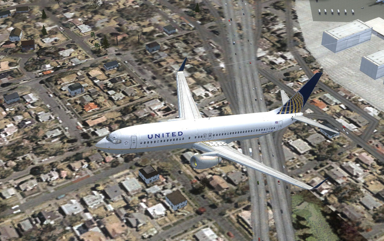 United Airlines Boeing 737-800 N53442 for FSX