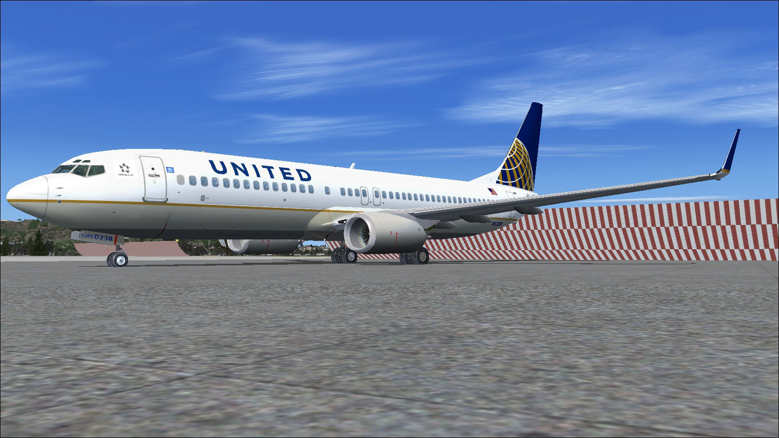 FSX United Airlines Boeing 737-800 RevisedUnited Airlines 737 800