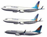 Varig Boeing 737-800.
