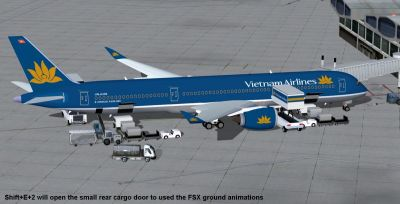 Vietnam Airlines Airbus A350-900 XWB stationary at airport.