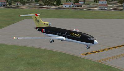 VikingAir Boeing 727-100 SuperPerformer on tarmac.