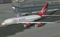 Virgin Atlantic Airbus A380-800.