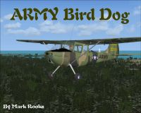 Screenshot of Army Cessna L-19 Bird Dog in flight.