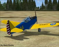 Screenshot of Fairchild PT-26 on the ground.